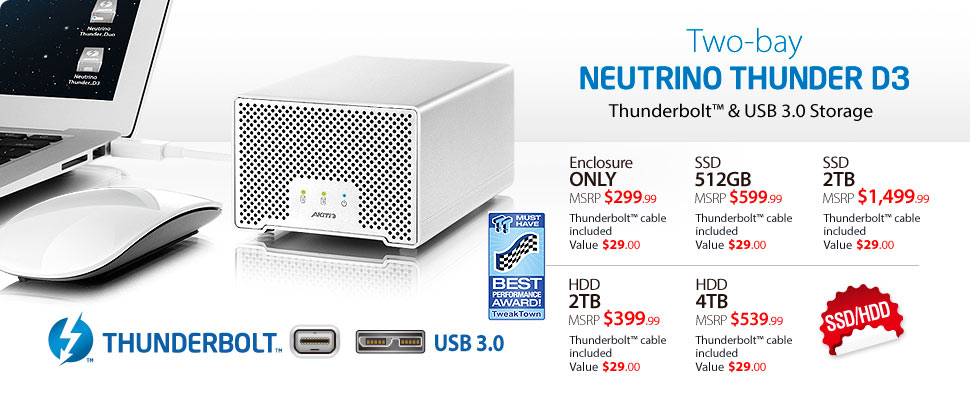 Neutrino Thunder D3 Prices