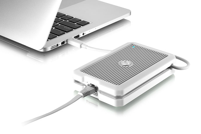 Akitio Thunder2 10g Network Adapter 10gbe To Thunderbolt