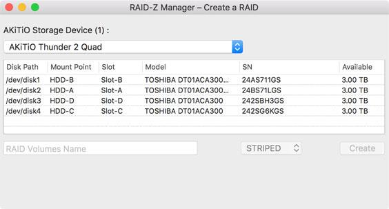 raidz manager 04