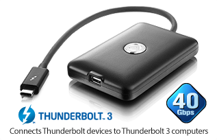 AKiTiO T3T - Thunderbolt to Thunderbolt 3 adapter