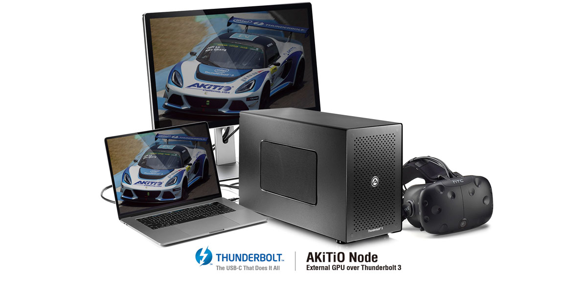 How to setup and use an external graphics card (eGPU) | AKiTiO