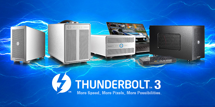 AKiTiO Thunderbolt 3 Products