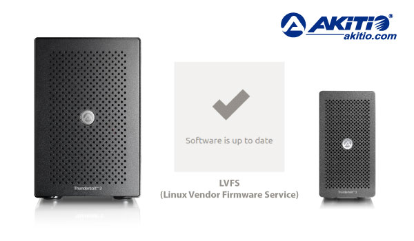 akitio linux lvfs fw update 600
