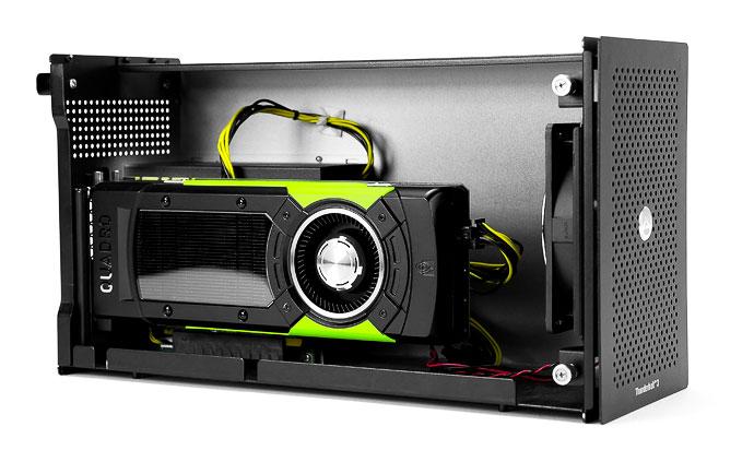 Akitio Node with Nvidia Quadro GPU