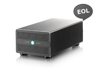 AKiTiO Thunder2 Duo Pro - RAID Storage with Thunderbolt 2 and USB