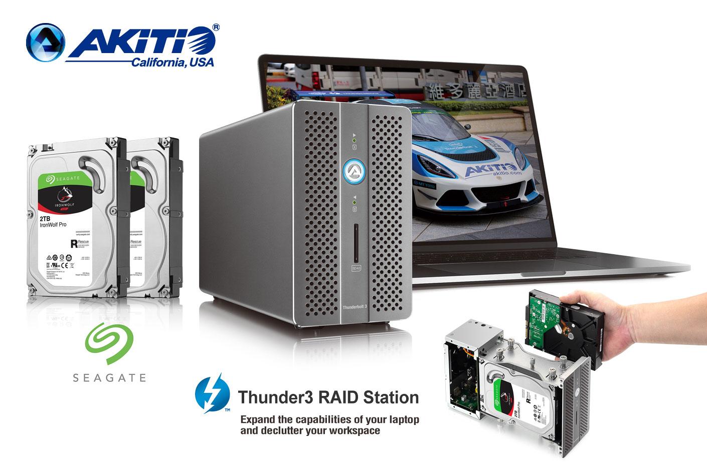 Brea, CA   January 29, 2018 / U2010u2010 Akitio, Creators Of Premium, High Quality,  External Storage Solutions Today Announced A New Strategic Partnership With  ...