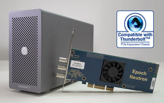 Bluefish video card compatible with Node Lite