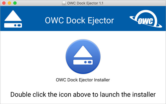 owc dock ejector mac installer