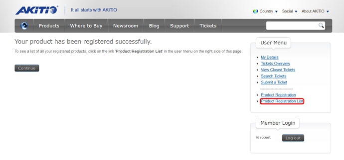 product registration 04