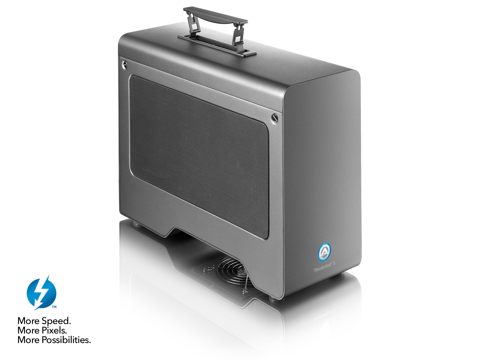 Node Pro - Thunderbolt 3 PCIe Expansion Chassis with PD   AKiTiO