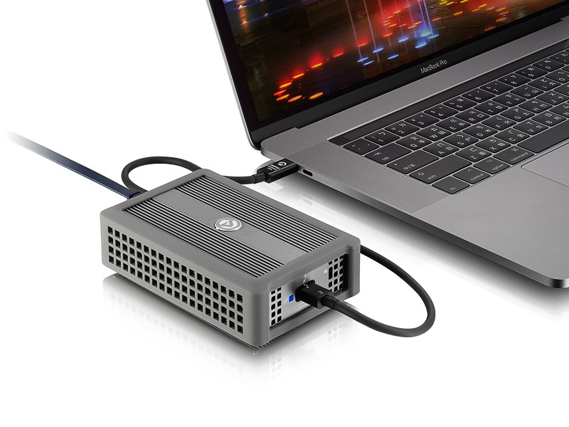 Thunder3 10G Network Adapter - 10GbE over Thunderbolt 3 | AKiTiO