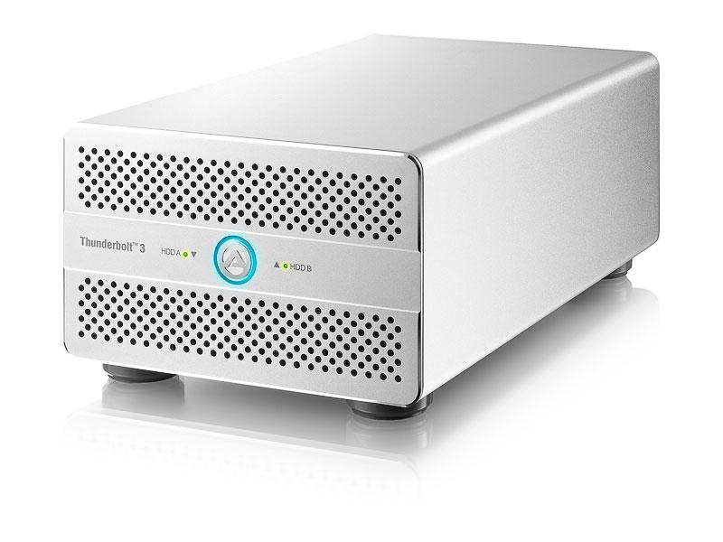 AKiTiO Thunder3 Duo Pro | Thunderbolt 3 & USB 3 RAID Storage